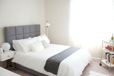 Downtown Room comfortable queen bed