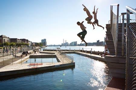 Islandic Docks - central for family