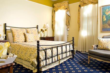 The Hoyt House B&B Queen Suite 1stf - Fernandina Beach