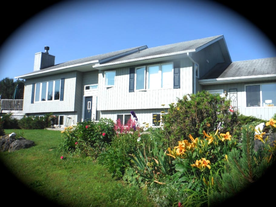 House with Perennial gardens