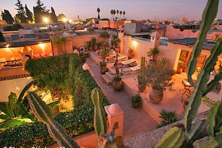 Chambre Safran riad darmouassine - Marrakesch