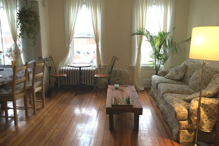 Bright, Spacious 1-BR in Downtown