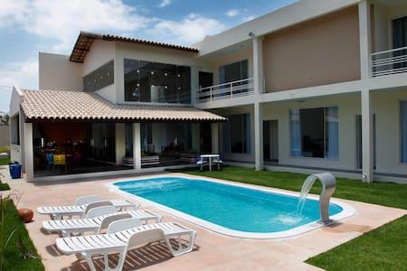 Casa de Alto Padrão na Bahia - Vera Cruz  - Haus