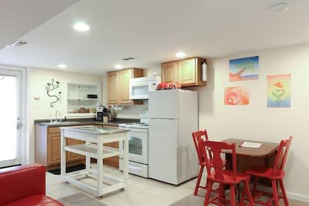 1 BR Capitol Hill Basement Apt - Washington - Apartment