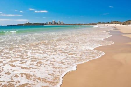 Greet a pefect day of sun surf sand - Mooloolaba