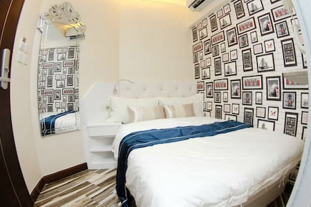 French Style Double Bed Room
