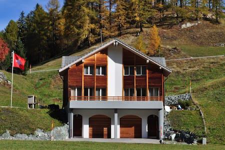 4-Sterne-Unterkunft mit Garage (Torautomatik) etc. - Marmorera - Casa