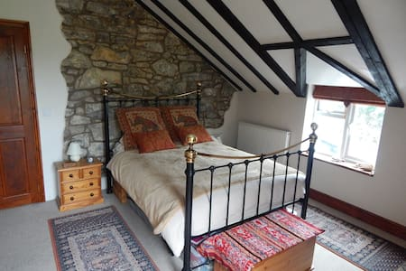 Large Double ensuite room with stunning views - Gwynfryn - Hus