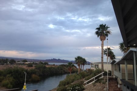 On the Island Steps From the Water! - Lake Havasu City - Casa