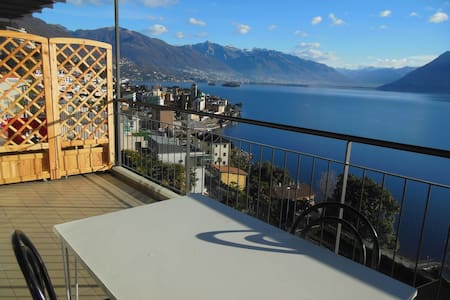APPARTAMENTO CON VISTA LAGO - Brissago - Apartment