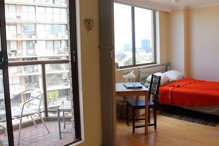 Comfy studio with amazing rooftop. - Darlinghurst - Apartment