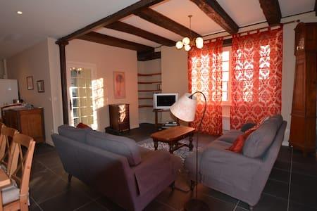 Spacious, 155m2 sunny village house - Juillac - House