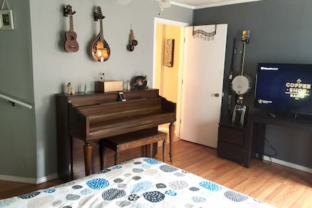 Music Room near Downtown District - Ház
