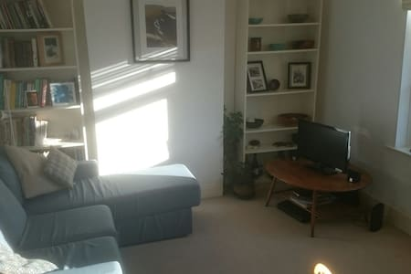 Light, upstairs flat in cool Canton - Appartamento