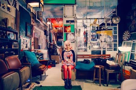 Creative Hostel in Kowloon . WM