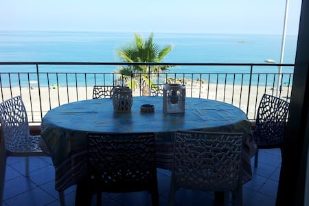 Seafront house near Aeolian Islands - Capo - Apartment
