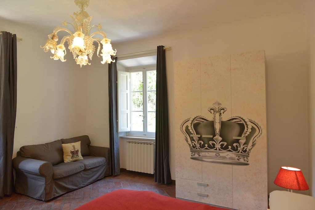 The Crown room - deluxe double ensuite