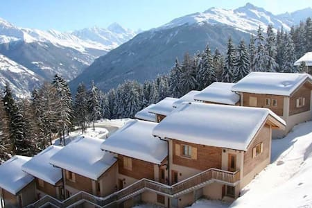 Chalet, Ski in/out, 12 Pers, Sauna - Vex - Hus