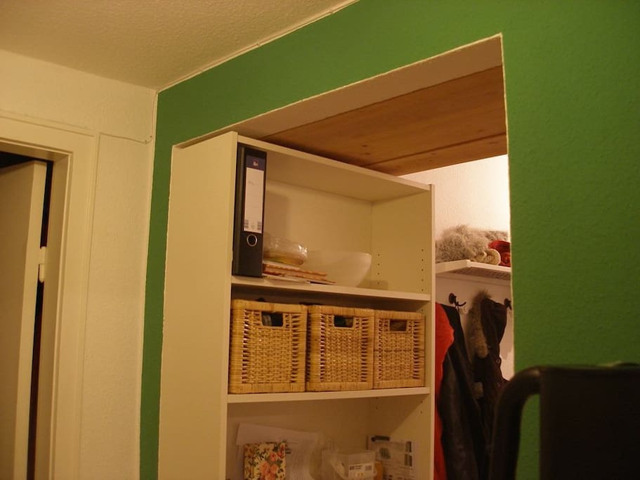 Zimmer in netter zweier wg zentral apartments for rent for Billy schuhregal