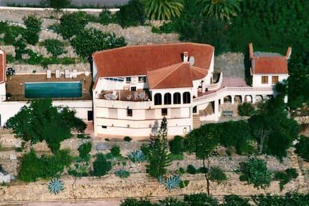 Casa Tosal, 3 double-bedroom, pool, views, - Callosa d'en Sarrià