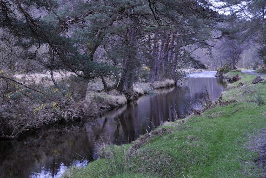 Glendasan river borders property