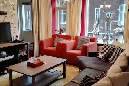 It's a nice big apartment located in the centrum of Groningen. Stores are at 2 minute walking distance.