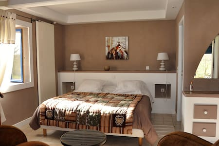 chambre d'hotes Beau Rivage - Falletans - Bed & Breakfast