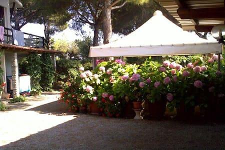 Trilocale in villa a 450mt dal mare - Lacona