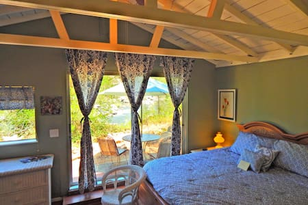 "~ ""Romantic River Studio"" COLOMA RIVERFRONT #4 ~ - Cabin"