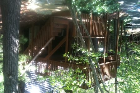 Our Cabin in the Woods-Near the Lake - Cabane
