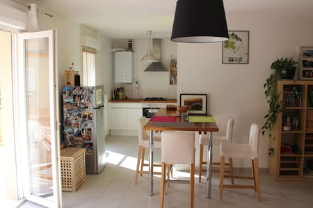 Lovely apartment in Allemont - Leilighet