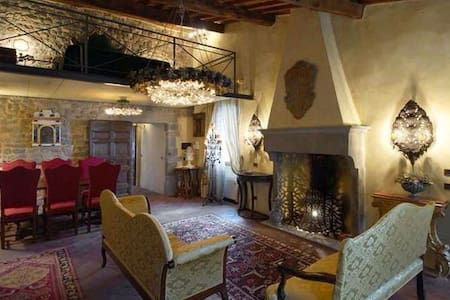 Luxury Medieval Tower near Florence - Linna