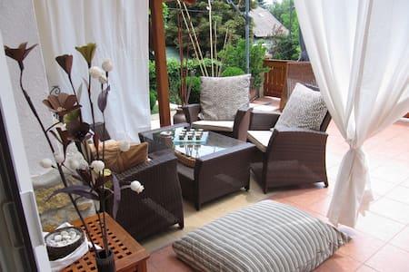 Balaton house 500 m from the beach! - Balatonkenese - House