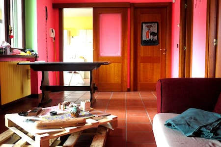 Room at the gateway of Valle Stura