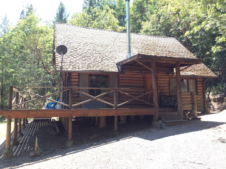 Unique Log Cabin Beautiful Views Cabins For Rent In