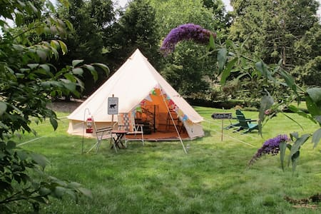 Vintage Style Canvas Bell Tent - Σκηνή