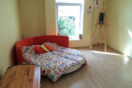Sunny and quiet room near the city center - Šiauliai - Leilighet