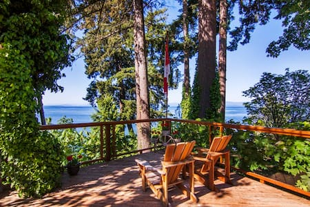 DRIFTWOOD ISLAND RETREAT HORNBY 2BR - Qualicum Beach - Bed & Breakfast