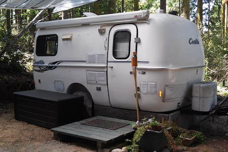 Glamp in a Deluxe Casita Trailer  - Port Townsend