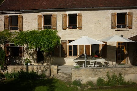 Gîte Joli entre Chablis et Vézelay - Châtel-Censoir - Rumah