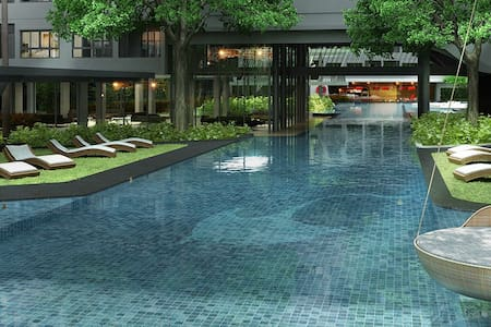 Quiet and luxurious oasis in the heart of Bangkok - Apartment