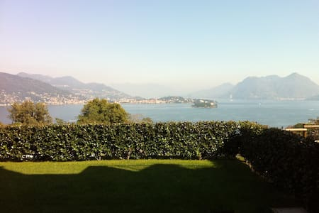 Baveno vista panoramica Isole - Baveno - Appartement