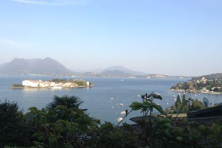 uitzicht op het meer + privétuin - Stresa - Appartement