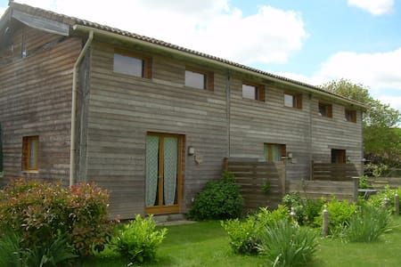 Buddleia ecogite in SW France - House