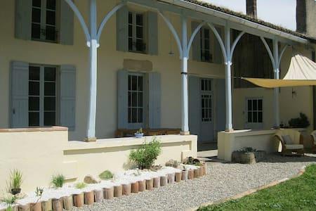 Charmante Maison et piscine - Maison