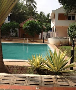 Cozy 3 bedroom villa in goa - Stadswoning