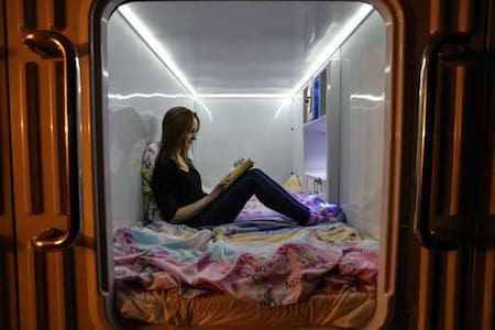 Capsule hostel in Moscow:Comfort