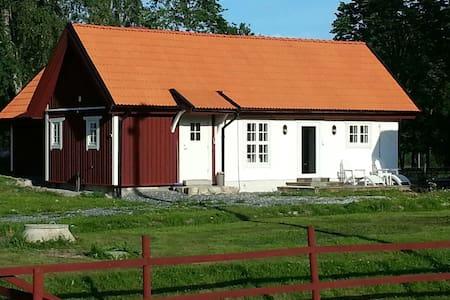 Charmigt mysigt hus på bondgård