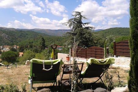 Appartement & jardin, vue magnifique sur montagnes - Byt