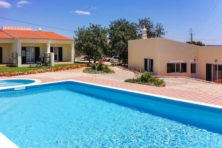 Sleek house w/air con & shared pool - Algoz